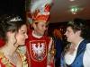 Karin II. mit dem neuem Faschingsprinzenpaar im Gespräch
