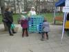 Bei unserem Spiel ,Vier gewinnt, können die Kinder ihr räumliches Denken üben.