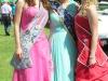 Apfelblütenkönigin Bianca I.,Jennifer II. und die neue Wehrheimer Apfelblütenkönigin 2016/2017