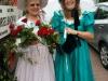 Waltraud und Pia als Biedermeier in Niederursel