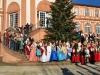 Gruppenbild vor dem Schloss