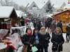 foto-BuKGS Nach dem Besuch des Weihnachtsmarktes , wurde sich im Rathaus Cafe aufgewärmt