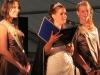 Büdesheimer Laternenkönigin Kim I. bei Ihrer Abschiedsrede