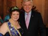 Brunnenkönigin Karin II. mit Ministerpräsident Volker Bouffier