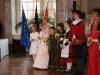 7634P Die Rosbacher Blütenkönigin Bianca I. mit Gefolge