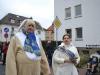 Brunnenkönigin Ramona I. mit Hase Dieter