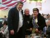 Sachsenhäuser Brunnenkönigin Karin II. mit Paul Ditze und Präsident Dieter Breidt