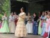 Sophie I. bei der Begrüßung ihrer Gäste