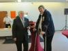 Peter Meister von Goldstein mit Präsident Dieter Breidt