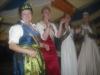 Karin II. mit der Hessischen Erdbeerkönigin Johanna I.