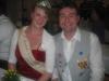 Stefan mit der Hessischen  Erdbeerkönigin