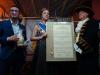 dsc02849waltraud    Stadtrat Mike Josef,Brunnenkönigin Laura I. und Brunnenschultheis Hans -Otto