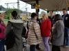 Kleine Änderung am Gleis, am Gleis 7 fährt der Zug nach Erfurt ein, daher müssen wir auf Gleis 8 abfahren !