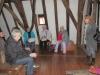 img_5069Empfang im Rathaus mit einem Glas Apfelwein und Erläuterungen für das Rathaus und Michelstadt von Corinna