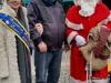 Brunnenkönigin Laura I. mit Präsident und Nikolaus auf dem 2.Weihnachtsmarkt am Südbahnhof