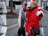 Bundestagsabgeordnete und Vereinsmitglied Ulli Nissen begrüßte uns an unserem Stand.