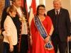 Yvonne II. folgte mit Brunnenschultheis Dieter der Einladung ins Schloss Bieberich
