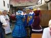 Die Berjersleut vor dem Festzug in Berkersheim