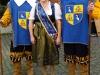 Brunnenkönigin karin II. mit den Herolden Alex und Stefan