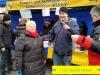 Foto:Pia Karin,Stefan und Volker vor unserem Stand