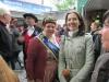 Karin II. mit der Bergen-Enkheimer Apfelweinkönigin Bettina I.